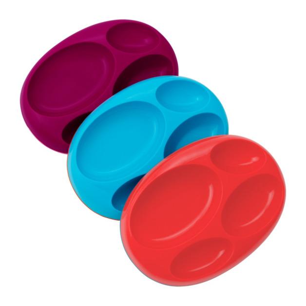 Boon Platter - Pink (3 Pack)