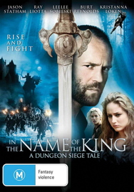 In The Name Of The King - A Dungeon Siege Tale on DVD