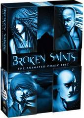 Broken Saints - The Animated Comic Epic (4 Disc Set) on DVD