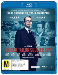 Tinker Tailor Soldier Spy on Blu-ray