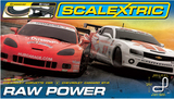 Scalextric Raw Power 1/32 Slot Car Set