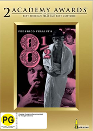 Fellini's 8 and 1/2 on DVD image