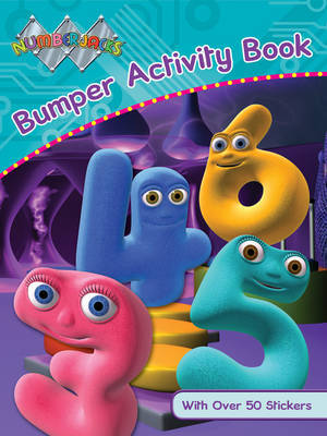 Numberjacks Bumper Activity Book image