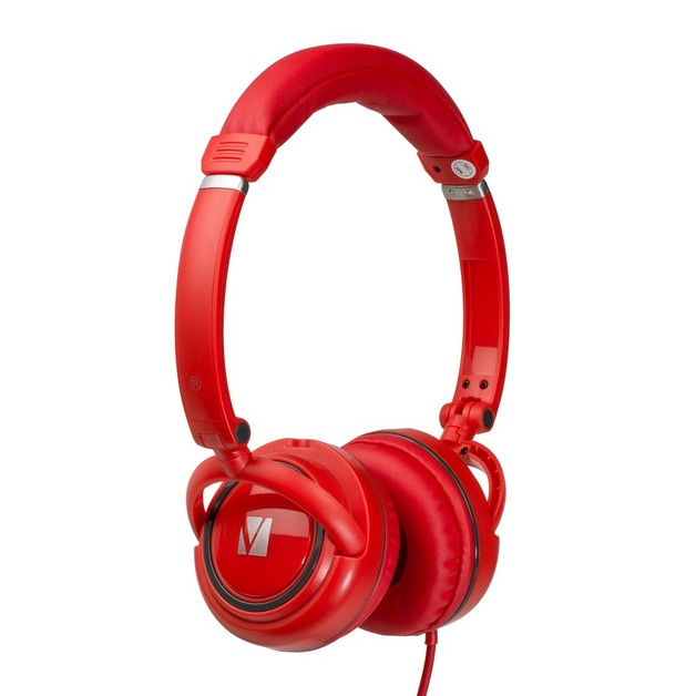Verbatim TDK ST100 On-Ear Street Audio Headphones (Red)