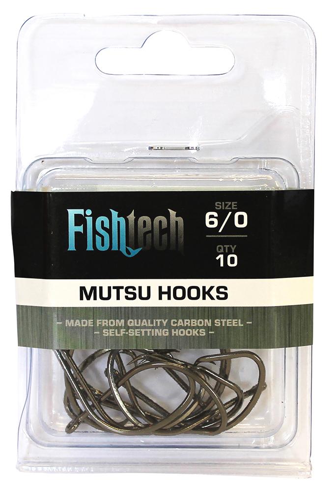 Fishtech Mutsu Hooks 6/0 (10 per pack) image