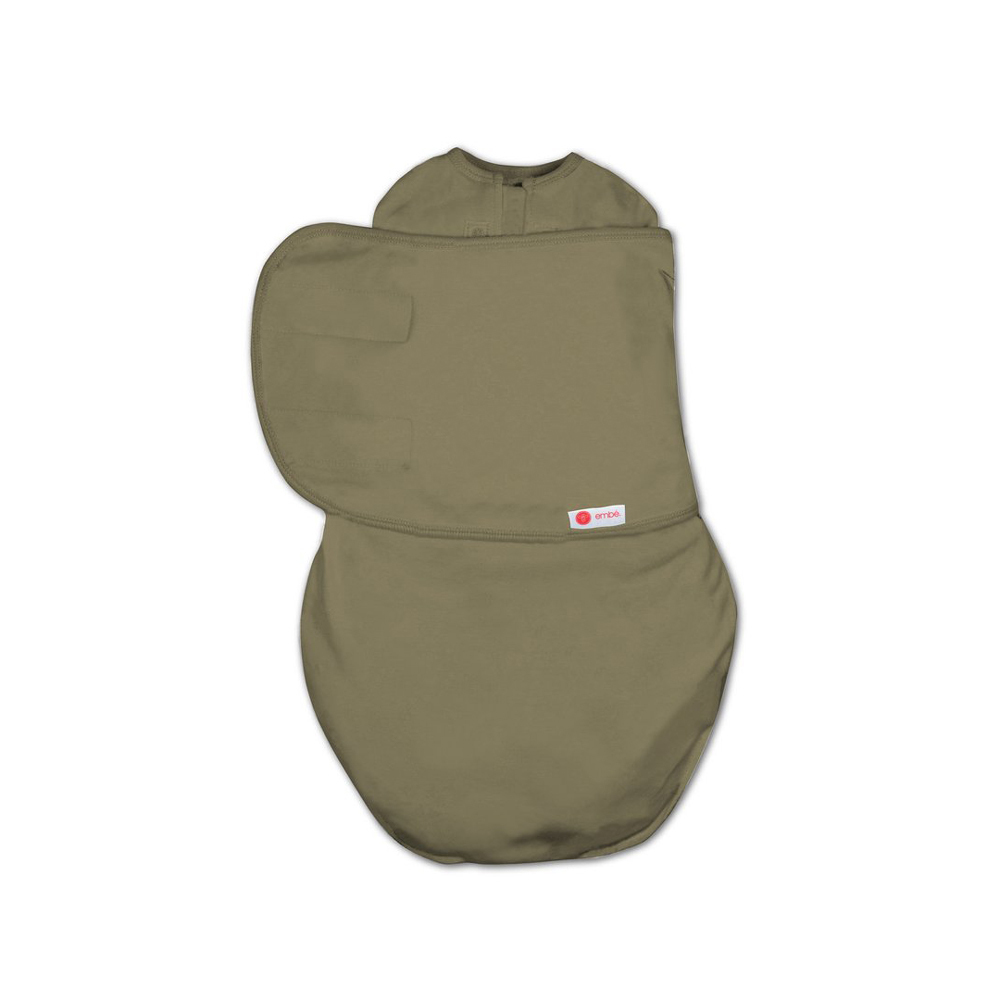 Embe Classic 2-Way Swaddle - Olive Green image
