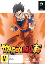Dragon Ball Super - Part 7 (eps 79-91) on DVD