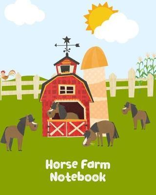 Horse Farm Notebook by Kiddo Teacher Prints