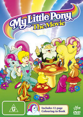My Little Pony: The Movie (with Colouring Book) on DVD