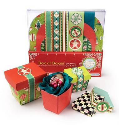 Jolly Holiday Box of Boxes: Everything You Need to Create Exquisite Gift Packages by Betty Anderson image