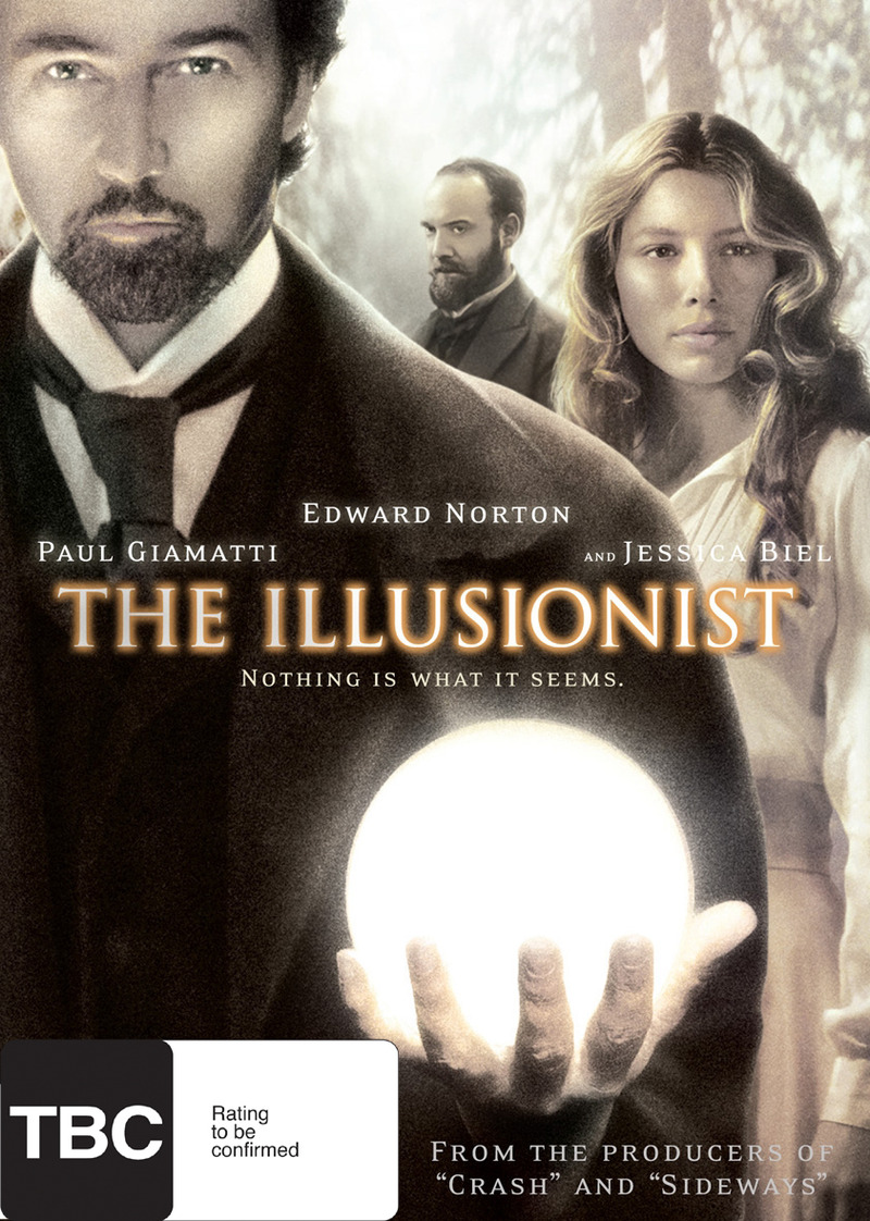 The Illusionist on DVD image