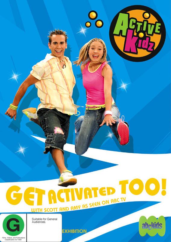 Active Kidz - Get Activated Too! on DVD