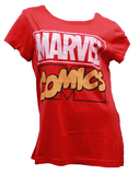 Marvel - Logo Red Male T-Shirt (Large)