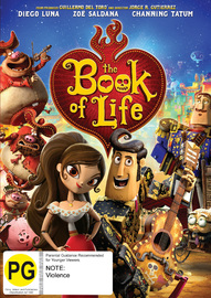 The Book Of Life on DVD image