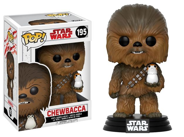 Star Wars: The Last Jedi - Chewbacca Pop! Vinyl Figure