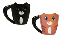 Thumbs Up: Colour Changing Ginger Cat Mug image