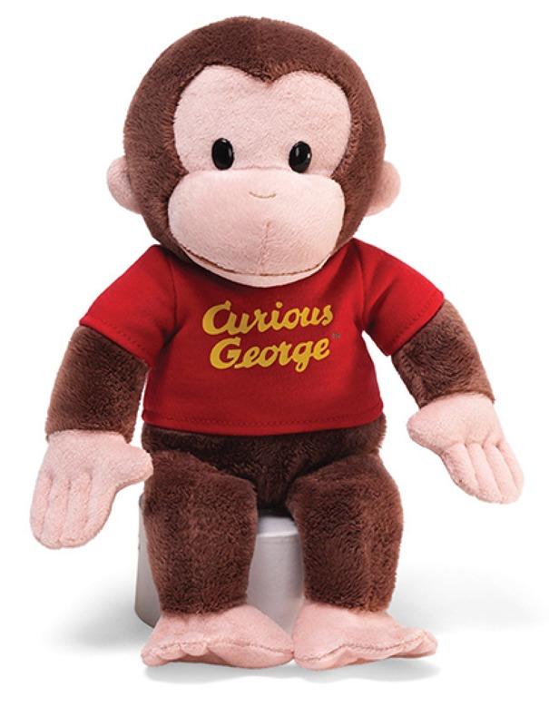 """Gund: Curious George (Red Shirt) - 12"""" Plush"""