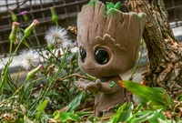 Marvel: Baby Groot (Velvet Hair Ver.) - Cosbaby Figure