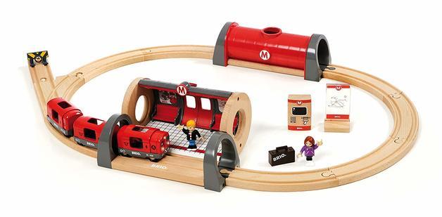Brio: Railway - Metro Railway Set
