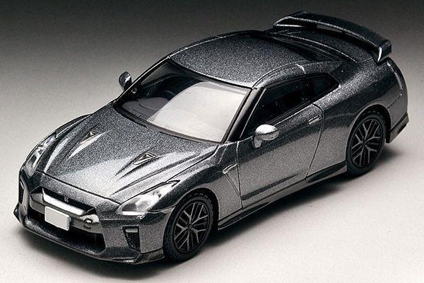 1/64 NISSAN GT-R Premium Edition (Gray) - Diecast Car