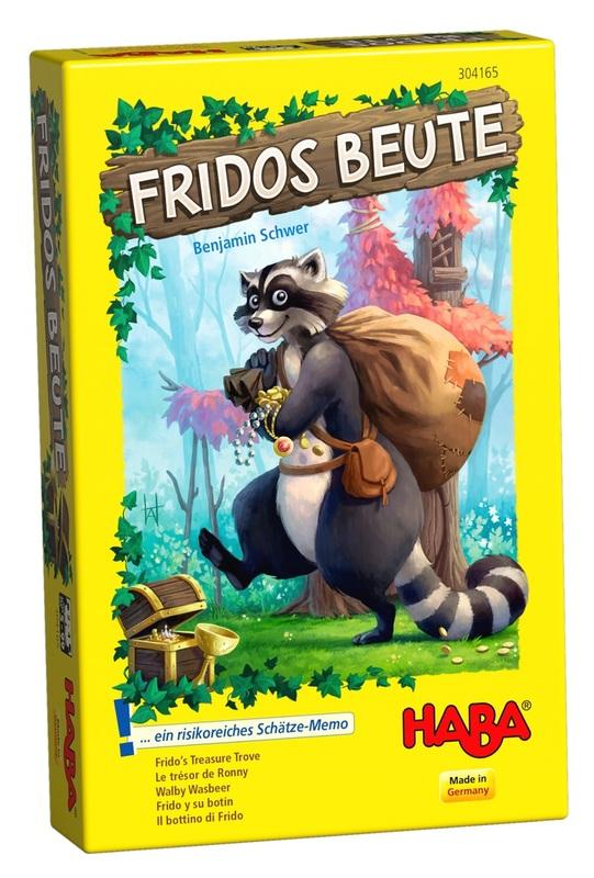 Frido's Treasure Trove - Children's Game
