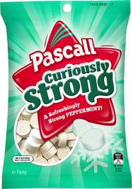 Pascall Curiously Strong Mints (150g)