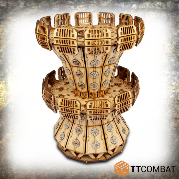 TTCombat: Tabletop Scenics - Cooling Tower (Sector 2)