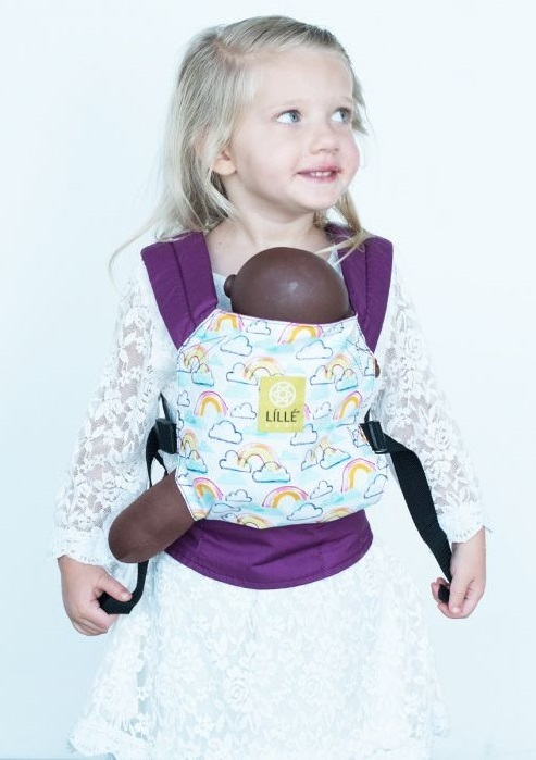 Lillebaby: Doll Carrier - Rainbows
