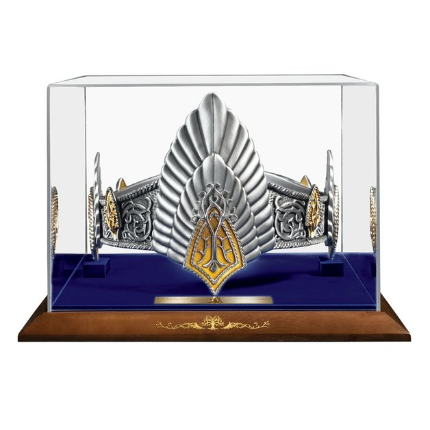 Lord of the Rings: The King Elessar Crown - 1:1 Scale Prop Replica