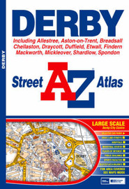 A-Z Derby Street Atlas by Geographers A-Z Map Company image