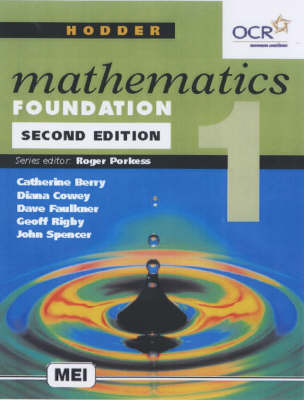 Hodder Mathematics: Bk. 1: Foundation Level by Roger Porkess image