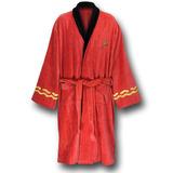 Star Trek Deluxe Bath Robe - Scotty (engineering red)