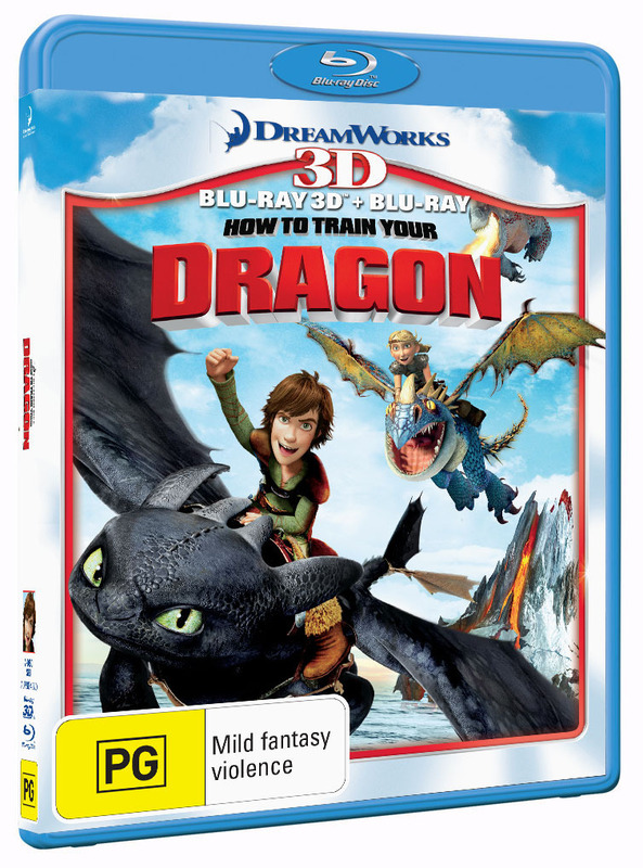 how to train your dragon rating australia
