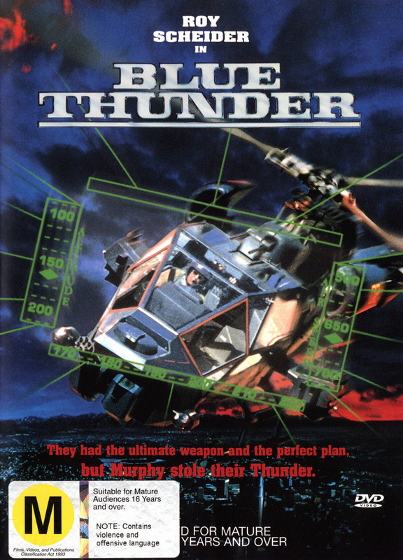 Blue Thunder on DVD