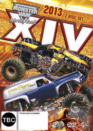 Monster Jam World Finals 14 on DVD
