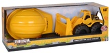 CAT Tough Tracks: Construction Crew Sand Set With Hard Hat & Garden Tools - Wheel Loader