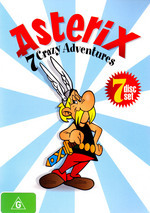 Asterix - 7 Crazy Adventures (7 Disc Set) on DVD