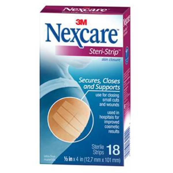 Nexcare Steri-Strip Skin Closure (12x100mm 18s)