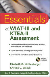 Essentials of WIAT-III and KTEA-II Assessment by Elizabeth O. Lichtenberger image