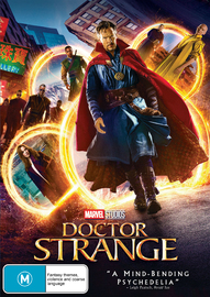 Doctor Strange on DVD