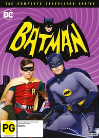 Batman - The Complete TV Series on DVD image