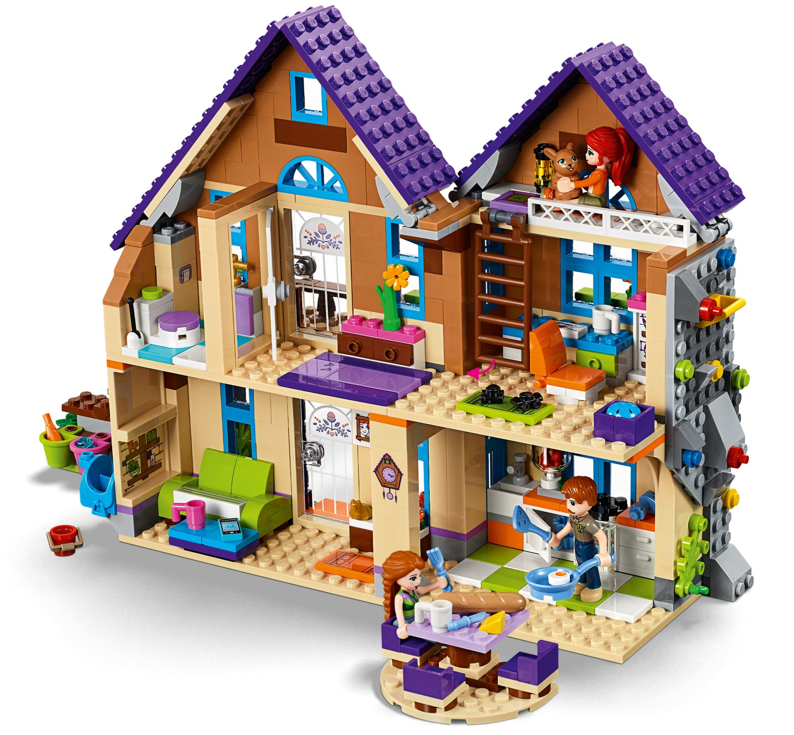 Lego Friends Mias House Toy At Mighty Ape Nz