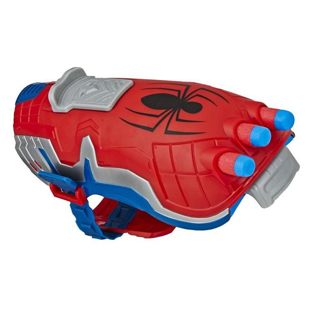 NERF Power Moves: Marvel Kids Roleplay Toy - Spider-Man Web Blast Web Shooter