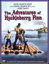 Adventures Of Huckleberry Finn on DVD