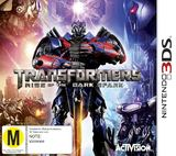 Transformers: Rise of the Dark Spark for Nintendo 3DS