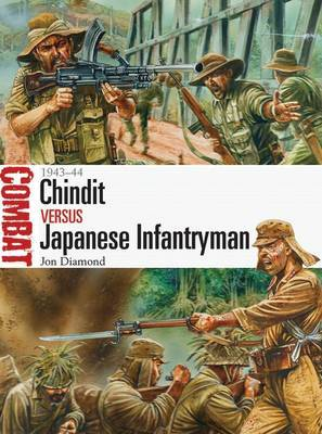 Chindit vs Japanese Infantryman by Jon Diamond