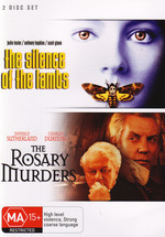 Silence of the Lambs / Rosary Murders (2 Disc Set) on DVD