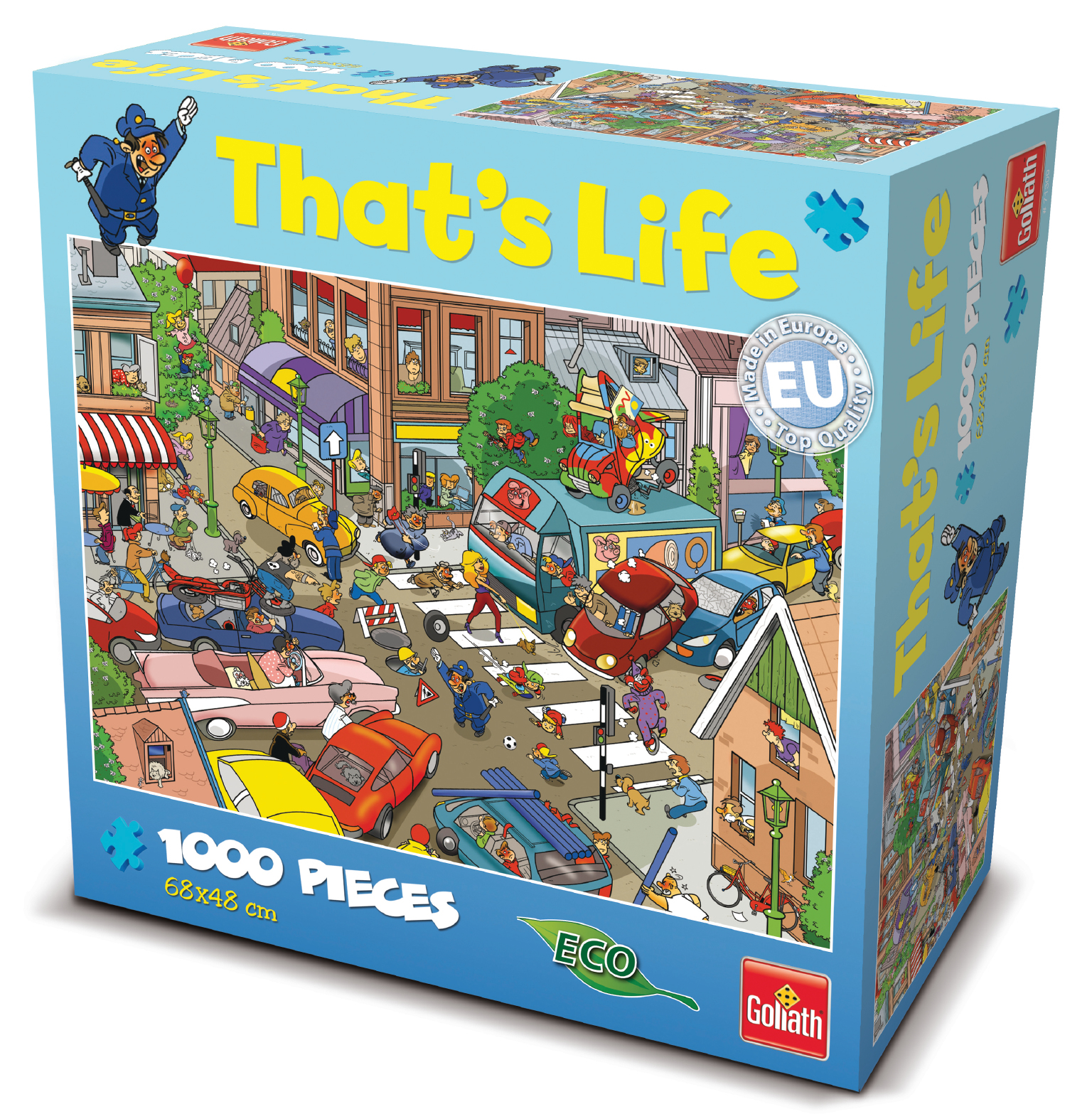 That's Life 1,000 Piece Jigsaw (Traffic) image