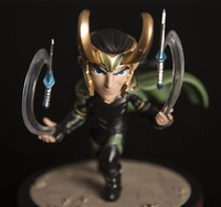 Thor: Ragnarok: Loki Q-Fig - Q-Fig Diorama