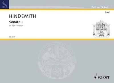 Sonata No. 1 by Paul Hindemith image